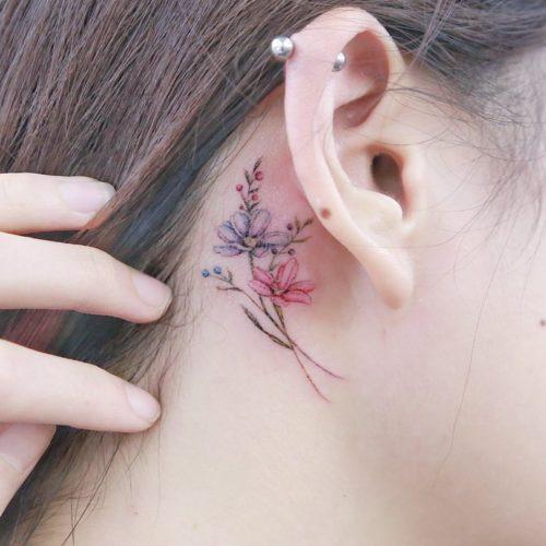 minilau タトゥー 作品