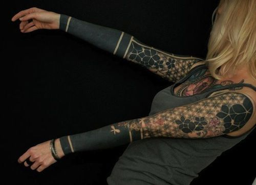 black arm
