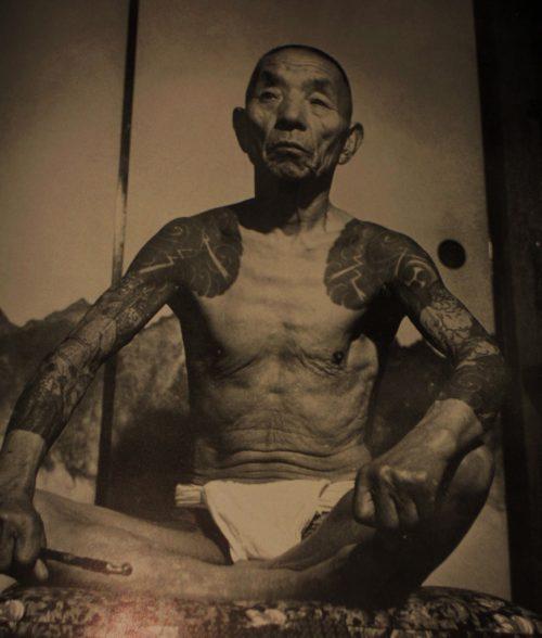 昔の刺青 江戸時代