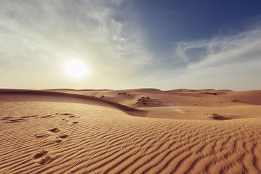 砂漠のような乾燥