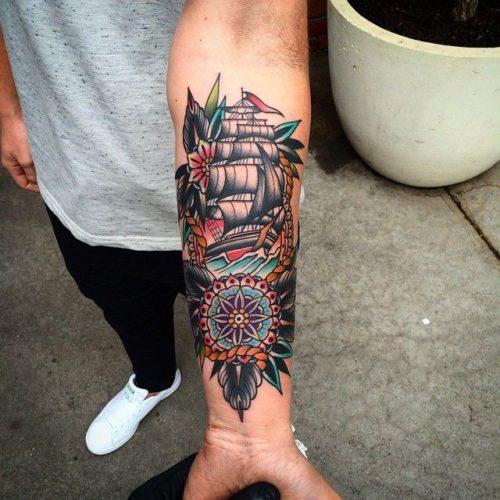 オールドスクールタトゥーとはアメリカの伝統タトゥーデザイン Dott