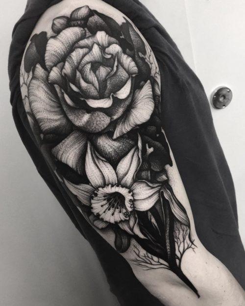 タトゥー Kelly violenceの作品