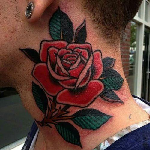 薔薇 タトゥー