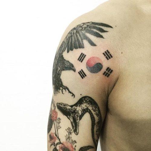 韓国 タトゥー