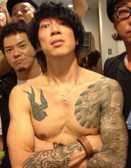 細美武士のタトゥー|刺青
