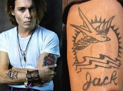 ツバメのタトゥー