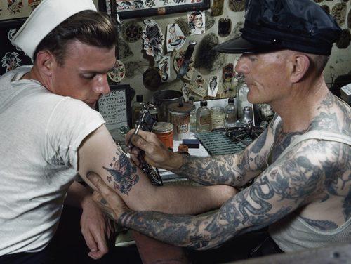 アメリカのタトゥーの歴史