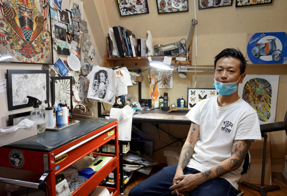 STROKER TATTOOの彫師|Kyohei氏