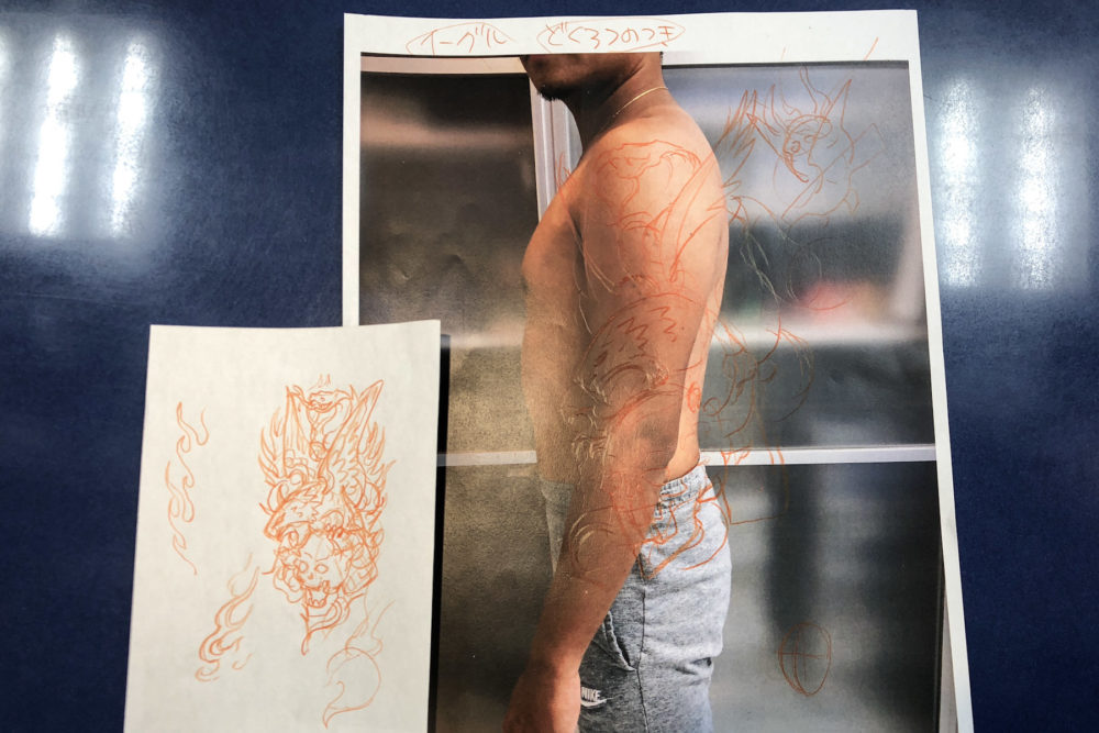 タトゥーデザインの描き方