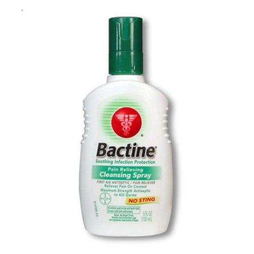Bactinの麻酔スプレー