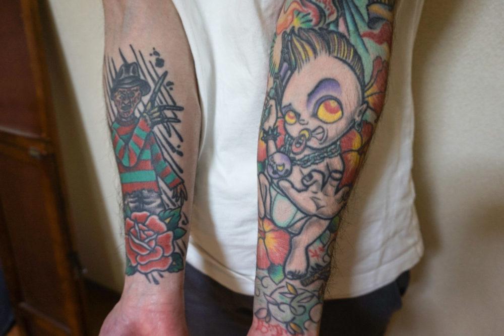 増田太輝さんの両腕のタトゥー