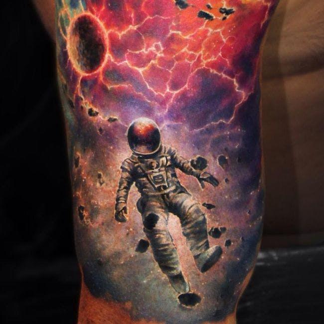 宇宙のタトゥー