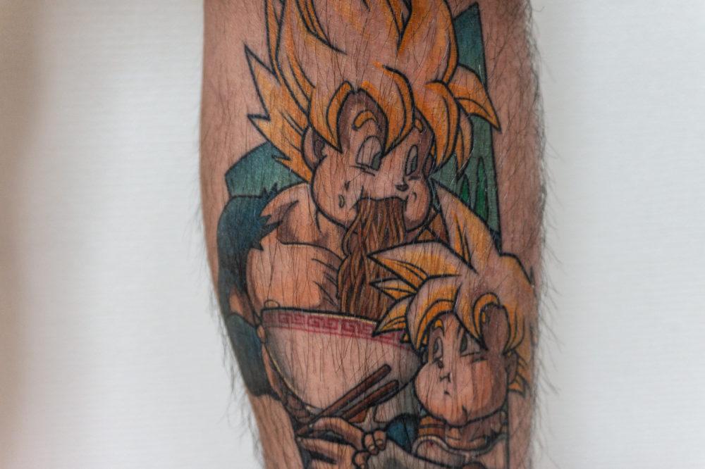 ドラゴンボールのタトゥー|Dragon ball tattoo