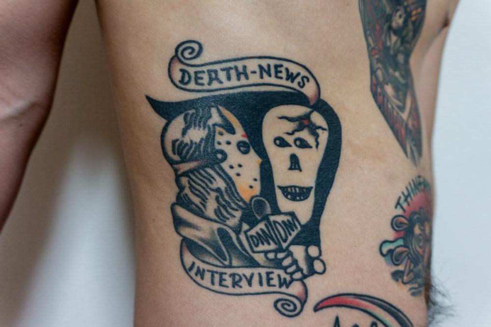 ジェイソンと死神のタトゥー
