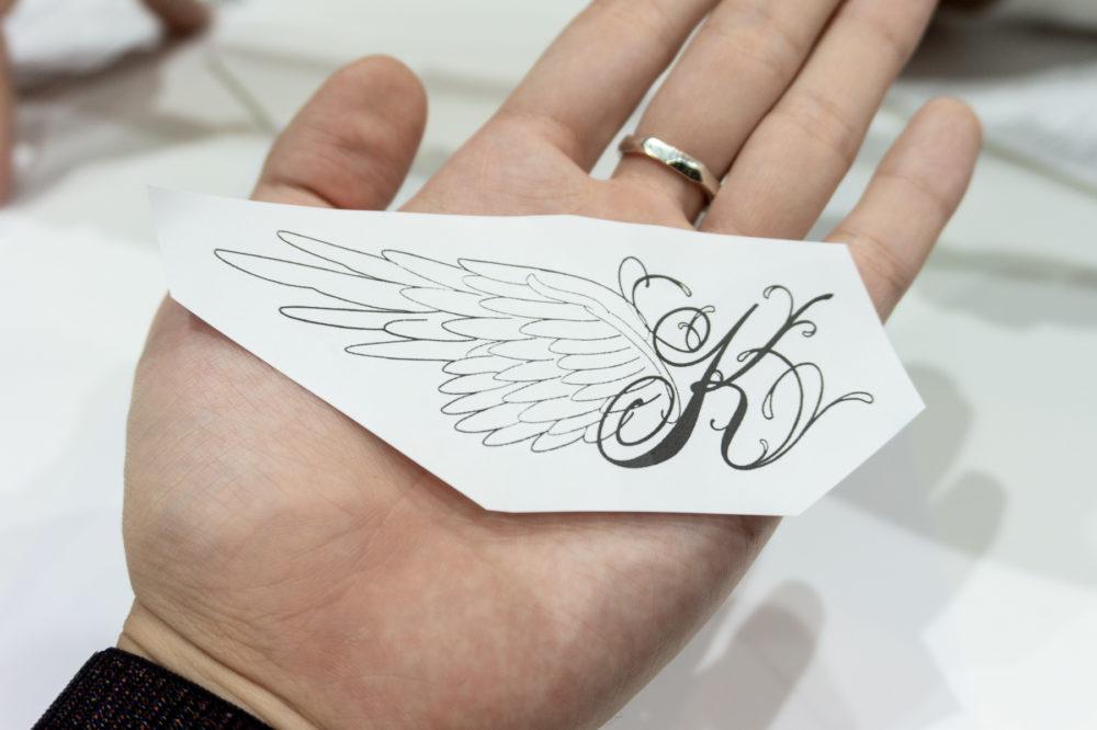 タトゥーデザインの方法|ステンシル製作
