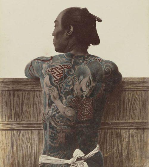 背中の刺青・和彫り