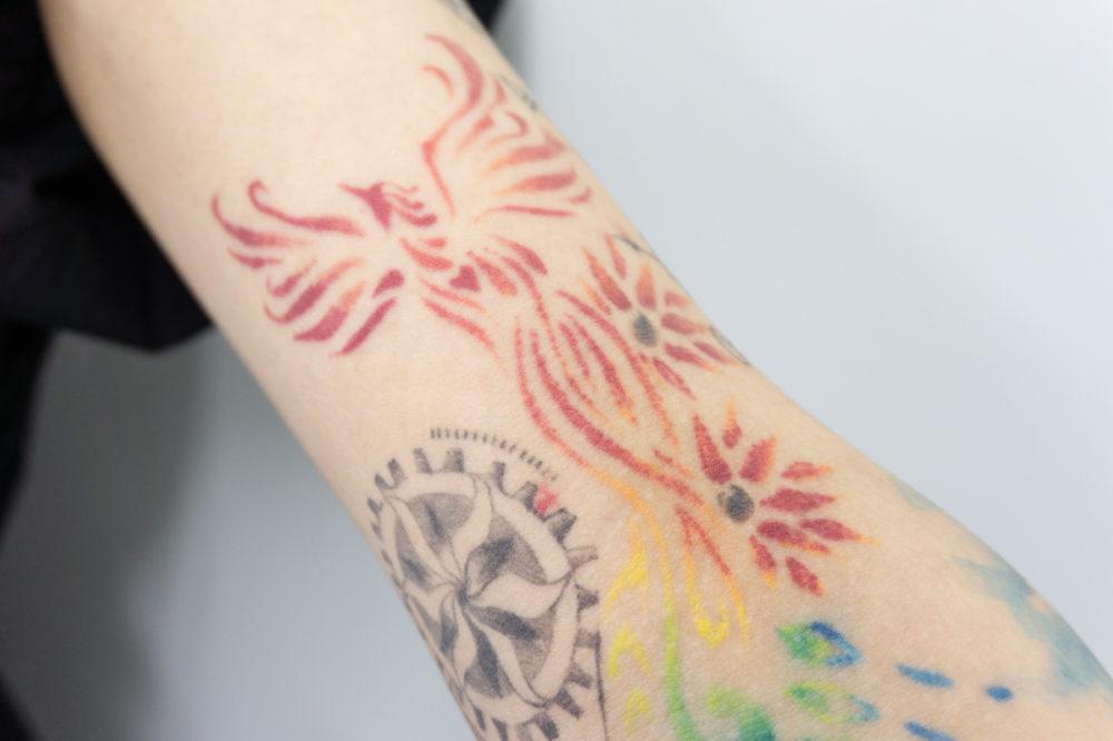 フェニックス・不死鳥のタトゥー