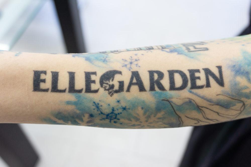 ELLEGARDENのタトゥー
