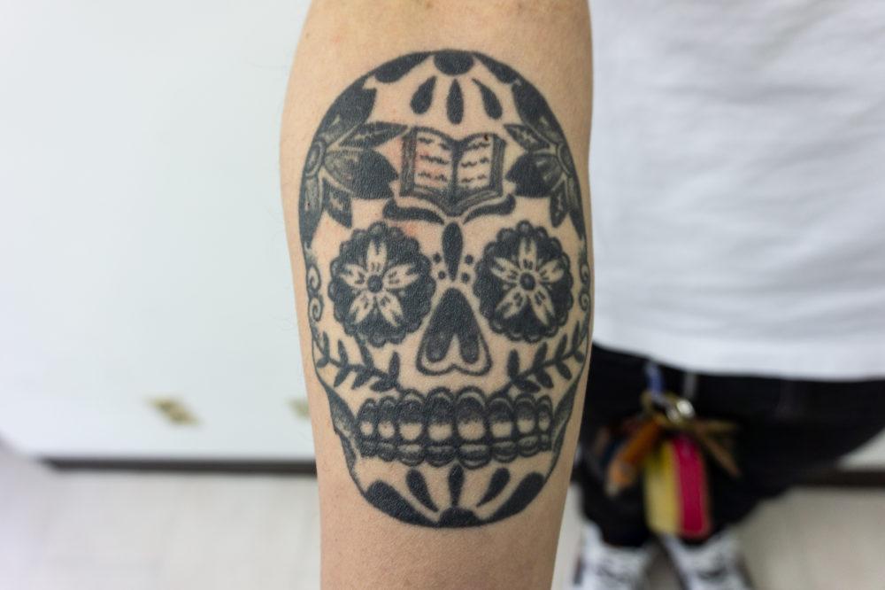 メキシカンスカルタトゥー