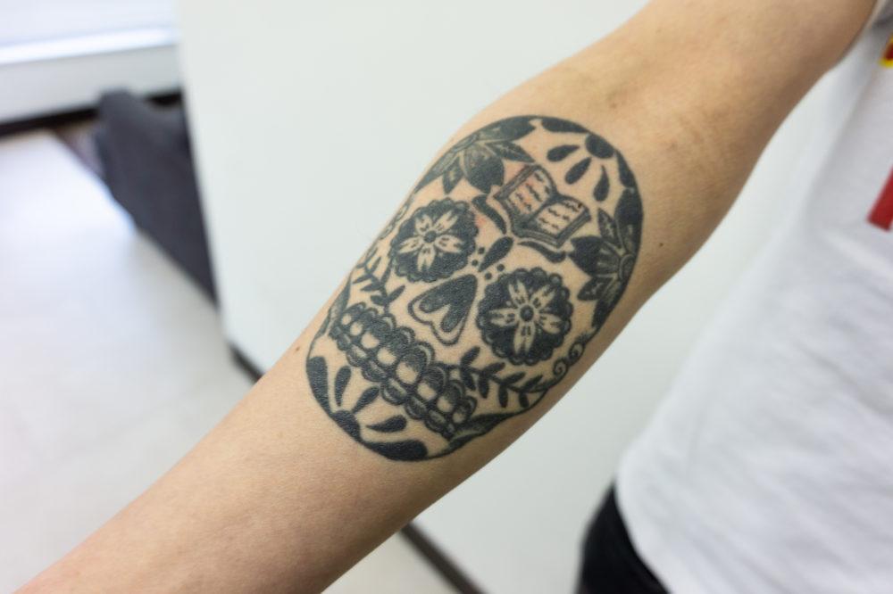メキシカンスカル タトゥー