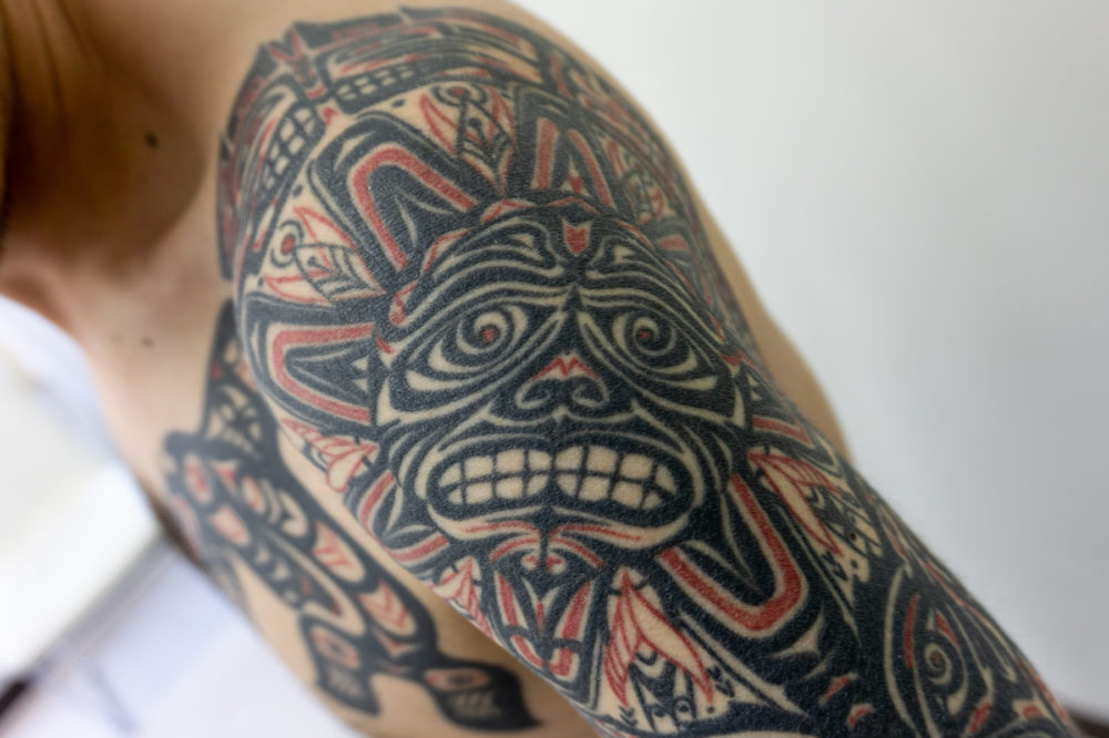 ハイダトライバル タトゥー