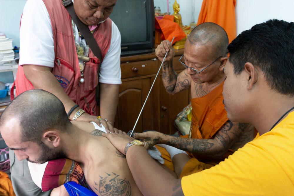 サクヤン|タイ伝統のタトゥー