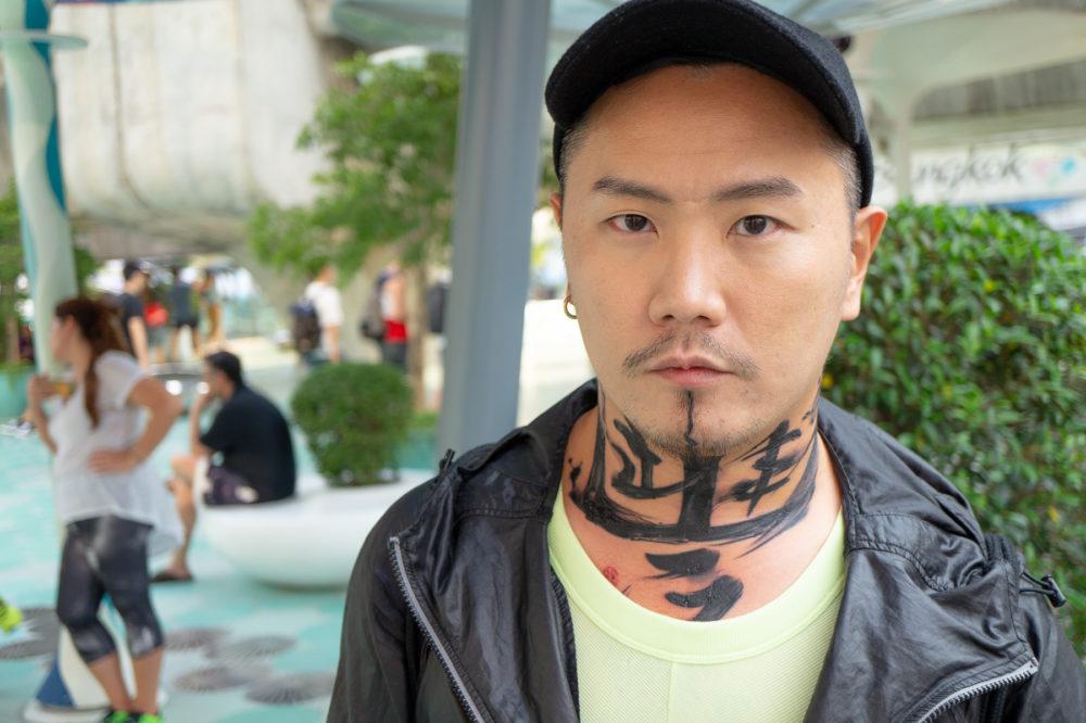 タイの男性|彫り師