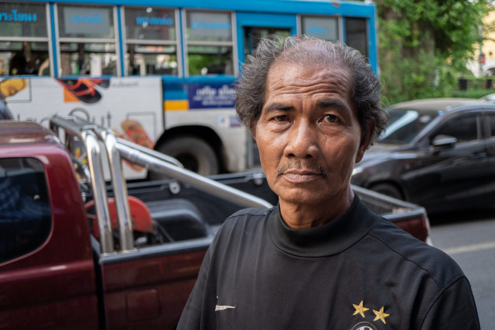 タイ在住の男性