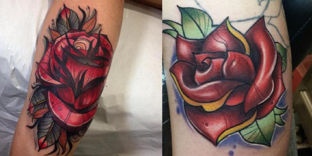 タトゥーの違い|ネオトラディショナルとニュースクール