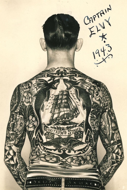 ブラックトラディショナルタトゥーの歴史