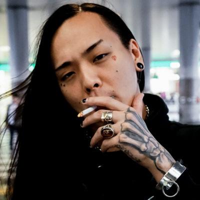 FUJI TRILLさん(DJ・PRODUCER)のタトゥー|ブラックアンドグレイ